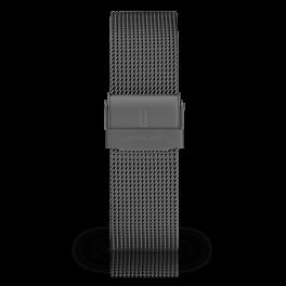 Mesh strap - dark-silver